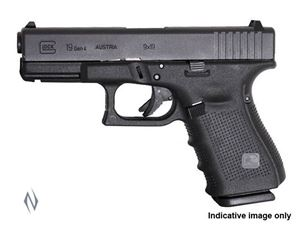 Picture of GLOCK 19C 9MM COMPACT 15 SHOT GEN 4 102MM PISTOL