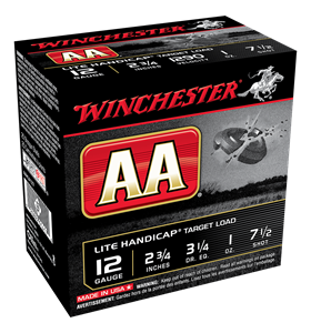 "Picture of WINCHESTER AA LITE HANDICAP 12G 7.5 2-3/4"" 28GM TARGET SHOTSHELL"